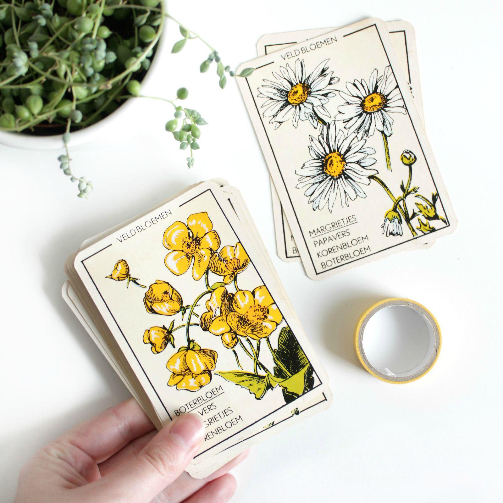 kringloopvondsten bloemenkwartet