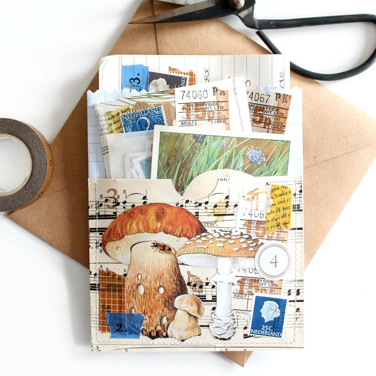 9x inspiratie voor snailmail in het thema herfst