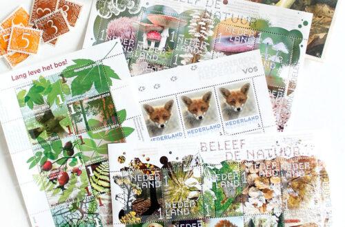 De mooiste postzegels voor de herfst