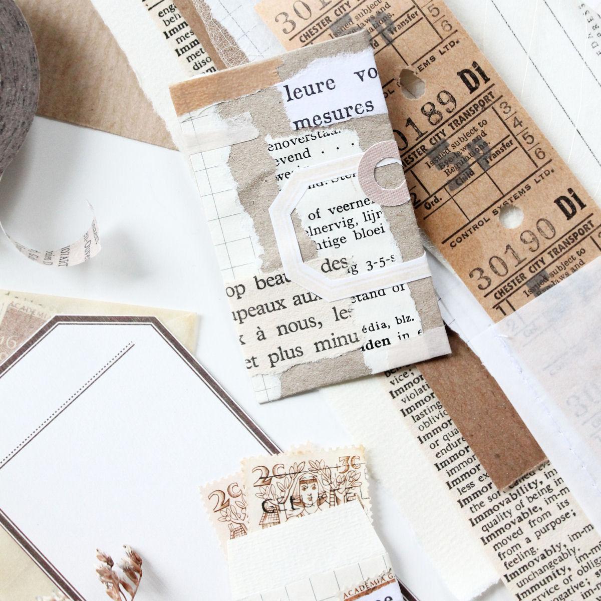Snailmail inspiratie: variant op de papierbundel
